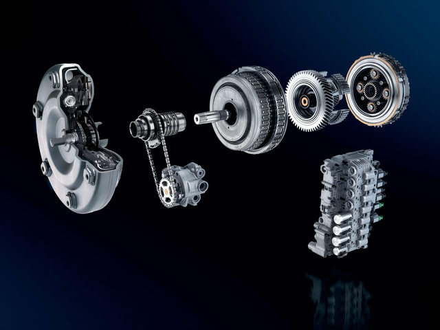 New PEUGEOT automatic gearbox EAT8
